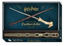 Cover-Bild zu Harry Potter: Das Buch der Zauberstäbe (mit Zauberstab-Replika in Geschenkbox) von Peterson, Monique