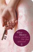 Cover-Bild zu Munro, Alice: Wozu wollen Sie das wissen?