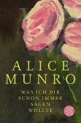 Cover-Bild zu Munro, Alice: Was ich dir schon immer sagen wollte