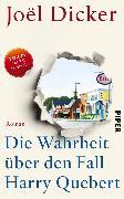 Cover-Bild zu Dicker, Joël: XXL-Leseprobe: Die Wahrheit über den Fall Harry Quebert (eBook)