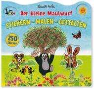 Cover-Bild zu Miler, Zdenek (Illustr.): Der kleine Maulwurf Malen Stickern Gestalten