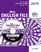 Cover-Bild zu Beginner: New English File: Beginner: Workbook with key and MultiROM Pack - New English File von Oxenden, Clive