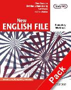 Cover-Bild zu Elementary: New English File: Elementary: Workbook with key and MultiROM Pack - New English File von Oxenden, Clive