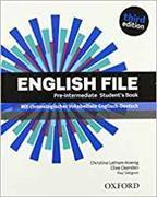 Cover-Bild zu English File. Pre Intermediate Student's Book von Oxenden, Clive