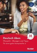 Cover-Bild zu Phonetik - Übungen und Tipps für eine gute Aussprache A1 (eBook) von Niebisch, Daniela
