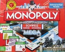 Cover-Bild zu MEGA Monopoly Schweiz