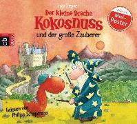 Cover-Bild zu Der kleine Drache Kokosnuss und der große Zauberer von Siegner, Ingo