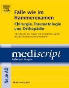 Cover-Bild zu Fälle wie im Hammerexamen Chirurgie, Traumatologie und Orthopädie (eBook) von Güthoff, Sonja
