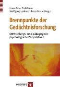 Cover-Bild zu Brennpunkte der Gedächtnisforschung von Trolldenier, Hans-Peter (Hrsg.)