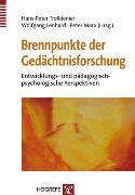 Cover-Bild zu Brennpunkte der Gedächtnisforschung (eBook) von Lenhard, Wolfgang (Hrsg.)