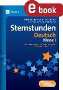 Cover-Bild zu Sternstunden Deutsch - Klasse 1 (eBook) von Sauer, Ulrike