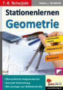 Cover-Bild zu Stationenlernen Geometrie / Klasse 7-8 von Schmidt, Hans-J.