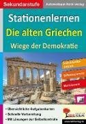Cover-Bild zu Stationenlernen Die alten Griechen