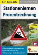 Cover-Bild zu Stationenlernen Prozentrechnung von Schmidt, Hans-J.