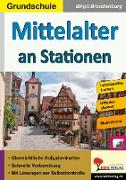 Cover-Bild zu Mittelalter an Stationen