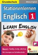 Cover-Bild zu Stationenlernen Englisch (eBook) von Angioni, Milena