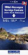 Cover-Bild zu Mittel-Norwegen. 1:400'000 von Hallwag Kümmerly+Frey AG (Hrsg.)