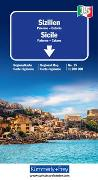 Cover-Bild zu Sizilien Regionalkarte Italien Nr. 15. 1:200'000 von Hallwag Kümmerly+Frey AG (Hrsg.)