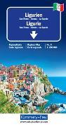 Cover-Bild zu Ligurien Regionalkarte Italien Nr. 6. 1:200'000 von Hallwag Kümmerly+Frey AG (Hrsg.)