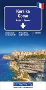 Cover-Bild zu Korsika. 1:150'000 von Hallwag Kümmerly+Frey AG (Hrsg.)