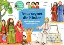 Cover-Bild zu Jesus segnet die Kinder. Spielfiguren für die Erzählschiene von Lefin, Petra (Illustr.)