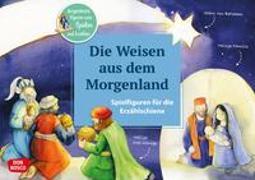 Cover-Bild zu Die Weisen aus dem Morgenland. Spielfiguren für die Erzählschiene von Lefin, Petra (Illustr.)