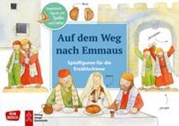 Cover-Bild zu Auf dem Weg nach Emmaus. Spielfiguren für die Erzählschiene von Lefin, Petra (Illustr.)
