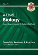 Cover-Bild zu A-Level Biology: Edexcel A Year 1 & 2 Complete Revision & Practice with Online Edition von CGP Books
