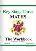 Cover-Bild zu KS3 Maths Workbook (with Answers) - Foundation von CGP Books