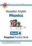 Cover-Bild zu English Targeted Practice Book: Phonics - Reception Book 4 von CGP Books