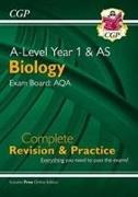 Cover-Bild zu A-Level Biology: AQA Year 1 & AS Complete Revision & Practice with Online Edition von CGP Books