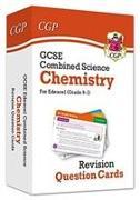 Cover-Bild zu 9-1 GCSE Combined Science: Chemistry Edexcel Revision Question Cards von Books, CGP