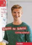 Cover-Bild zu Schritt für Schritt in Alltag und Beruf 3 / Kursbuch + Arbeitsbuch von Niebisch, Daniela