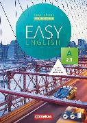 Cover-Bild zu Easy English, A2: Band 1, Kursbuch - Kursleiterfassung, Mit Audio-CD, Phrasebook, Aussprachetrainer und Video-DVD von Cornford, Annie