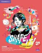 Cover-Bild zu Shape It! Level 2 Combo A Student's Book and Workbook with Practice Extra von Thacker, Claire
