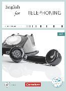 Cover-Bild zu Short Course Series, Englisch im Beruf, Business Skills, A2, English for Telephoning, Kursbuch mit CD von Cornford, Annie