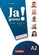Cover-Bild zu Ja genau!, Deutsch als Fremdsprache, A2: Band 1 und 2, Sprachtraining DaZ mit Differenzierungsmaterial von Menzel, Vera