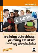 Cover-Bild zu Training Abschlussprüfung Deutsch (eBook) von Lascho, Birgit