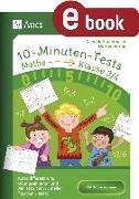 Cover-Bild zu 10-Minuten-Tests Mathematik - Klasse 3/4 (eBook) von Herrler, Dörthe
