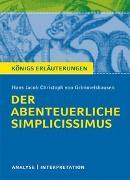 Cover-Bild zu Der abenteuerliche Simplicissimus von Hans Jakob Christoph von Grimmelshausen von Grimmelshausen, Hans Jakob Christoph