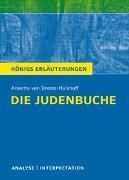 Cover-Bild zu Die Judenbuche von Annette von Droste-Hülshoff von Droste-Hülshoff, Annette von