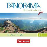 Cover-Bild zu Panorama, Deutsch als Fremdsprache, A1: Gesamtband, Audio-CDs zum Übungsbuch DaF