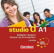Cover-Bild zu Studio d, Deutsch als Fremdsprache, Schweiz, A1, Audio-CDs