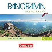 Cover-Bild zu Panorama, Deutsch als Fremdsprache, A1: Gesamtband, Audio-CDs zum Kursbuch