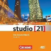 Cover-Bild zu Studio [21], Grundstufe, A1: Gesamtband, Kursraum Audio-CDs