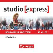 Cover-Bild zu Studio [express], A1-B1, Audio-CDs zu Kurs- und Übungsbuch