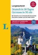 Cover-Bild zu Langenscheidt Deutsch in 30 Tagen - Sprachkurs mit Buch und Audio-CD