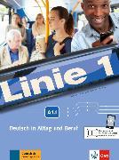 Cover-Bild zu Linie 1 A1. Kurs- und Übungsbuch mit DVD-ROM, Teil 1 von Kaufmann, Susan