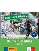 Cover-Bild zu Berliner Platz 2 NEU in Teilbänden - Audio-CD zum Lehrbuch, Teil 2 von Lemcke, Christiane