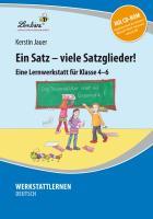 Cover-Bild zu Ein Satz - viele Satzglieder! von Jauer, Kerstin